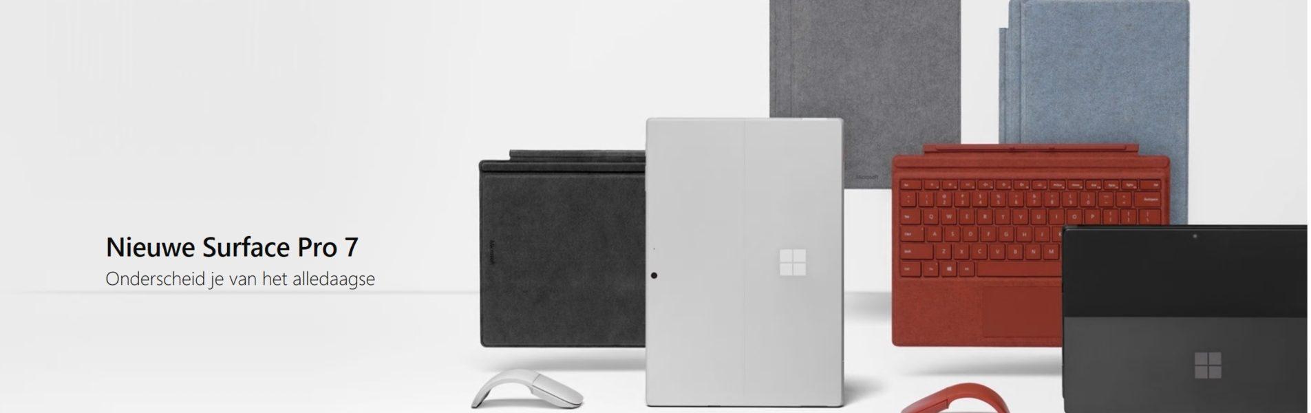 Tweeweg IT Nieuws - Surface Pro 7